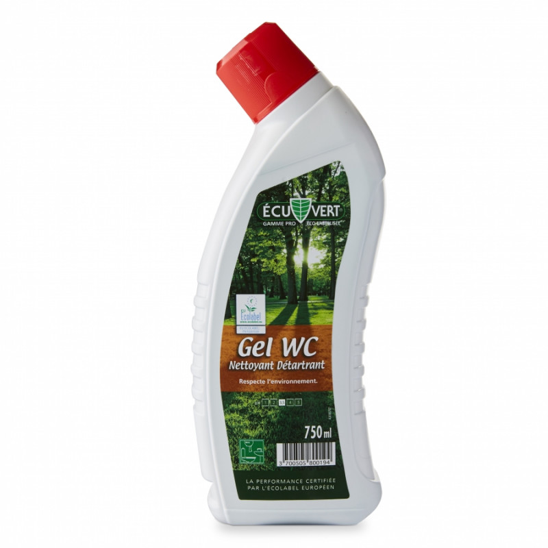 ECUVERT DETARTRANT GEL WC 6x750ML FR