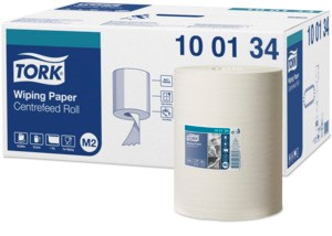Tork Wiping  Rouleau a Dévidage Central Chiffon D'Essuyage  1 pli M2 1 x 6