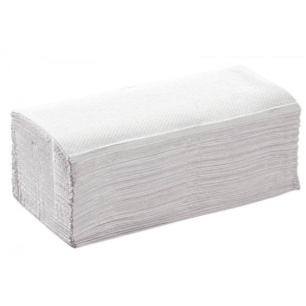 Hand Towel ZZ, 24,8, Natural 15 x 250 PIECES